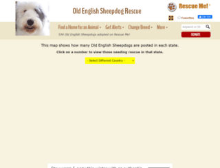 oldenglishsheepdog.rescueme.org screenshot