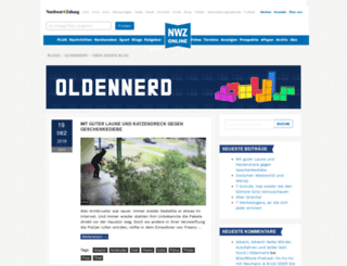 oldennerd.nwzonline.de screenshot