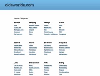 oldeworlde.com screenshot