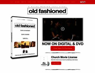 oldfashionedmovie.com screenshot