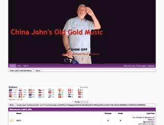 oldgoldmusic.freeforums.net screenshot