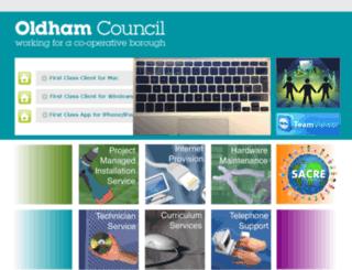 oldhamlea.org.uk screenshot