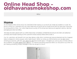 oldhavanasmokeshop.com screenshot