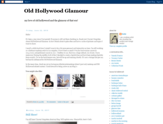oldhollywoodglamour.blogspot.com screenshot