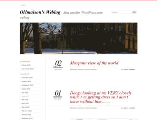 oldmaison.wordpress.com screenshot