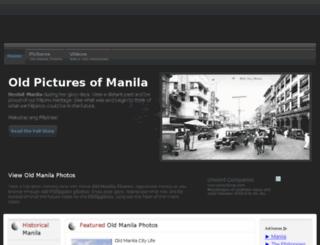 oldmanila.net screenshot