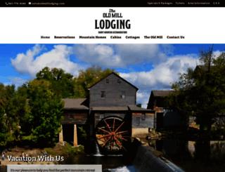 oldmilllodging.com screenshot