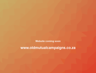 oldmutualcampaigns.co.za screenshot