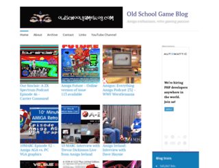 oldschoolgameblog.wordpress.com screenshot