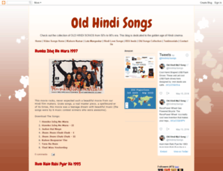 oldsongs-uttam.blogspot.com screenshot