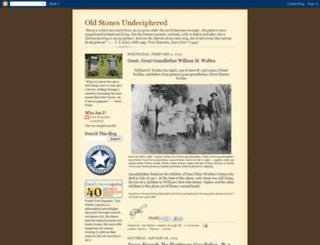 oldstonesundeciphered.blogspot.com screenshot