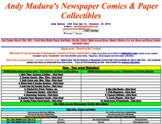 oldsundaycomics.com screenshot
