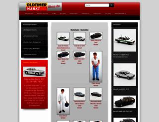 oldtimer-markt-shop.de screenshot