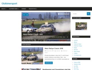 oldtimersport.net screenshot