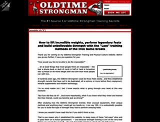 oldtimestrongman.com screenshot