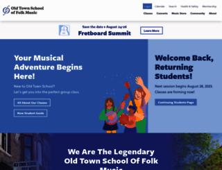 oldtownschool.org screenshot