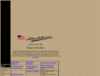 oldwatch.com screenshot