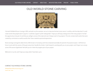 oldworldstonecarving.com screenshot