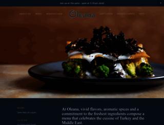 oleanarestaurant.com screenshot
