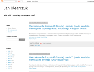 olearczuk.blogspot.com screenshot