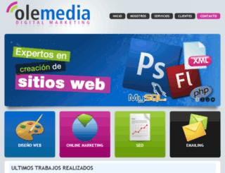 olemedia.es screenshot