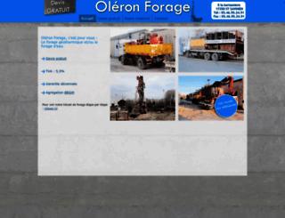 oleron-forage.fr screenshot