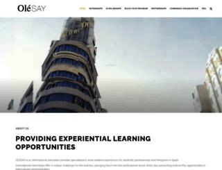 olesay.com screenshot