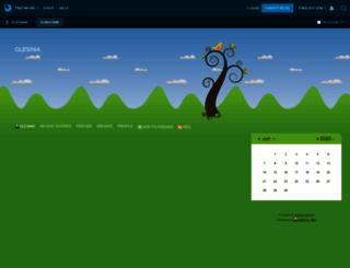 olesinia.livejournal.com screenshot