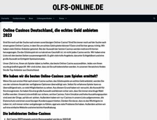 olfs-online.de screenshot