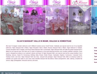 olgabanquethall.com screenshot