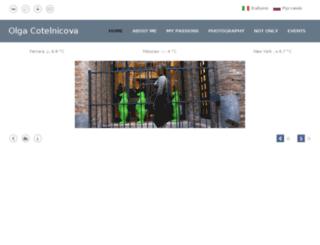 olgacotelnicova.com screenshot