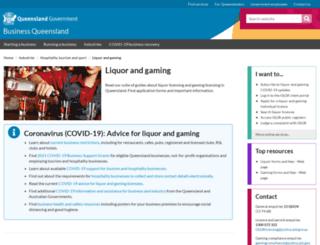 olgr.qld.gov.au screenshot