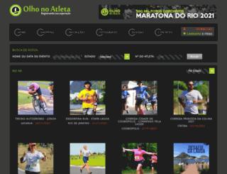 olhonoatleta.com.br screenshot