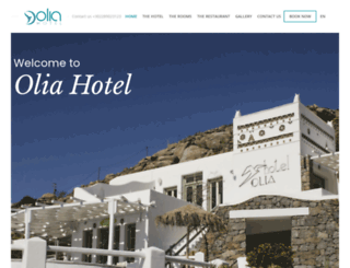 olia-hotel.gr screenshot