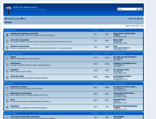 oliforum.it screenshot