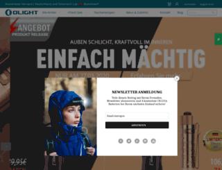 olight-germany.de screenshot