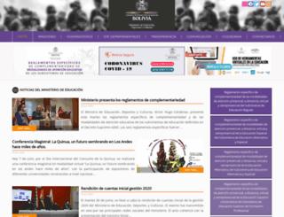 olimpiadas.educabolivia.bo screenshot