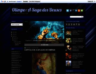 olimpoasagadosdeuses.blogspot.com.br screenshot