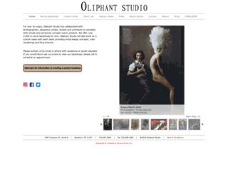 oliphantstudio.com screenshot