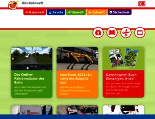 olis-bahnwelt.de screenshot