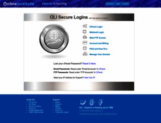 oliserver.com screenshot