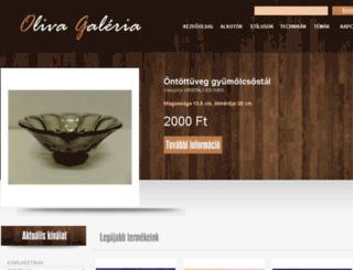 olivagaleria.com screenshot