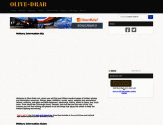 olive-drab.com screenshot