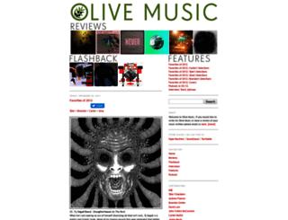 olive-music.blogspot.com screenshot