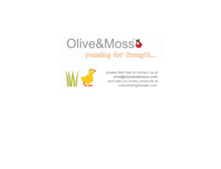 oliveandmoss.com screenshot