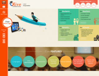 oliveedu.com screenshot