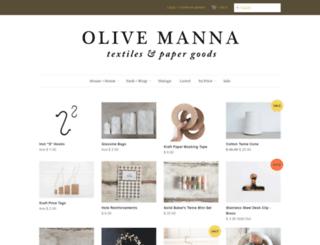 olivemanna.com screenshot