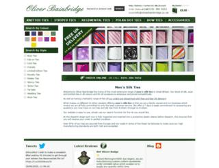 oliverbainbridge.co.uk screenshot