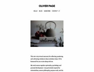 oliverpage.net screenshot