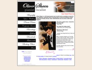 oliversheen.com screenshot